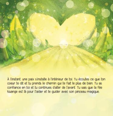 Extrait du livre/CD, Imagerie Guidée de la Fée Nuange La confiance