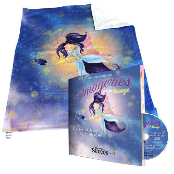 Doudou et livre CD de Nuange